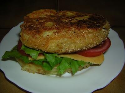 recette - burgers de pommes de terre