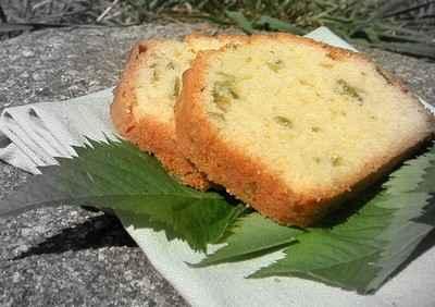 recette - cake à l'angélique confite maison