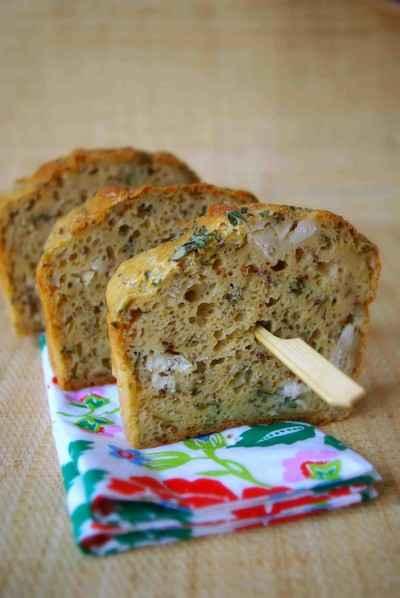 recette - cake au cidre, poulet et estragon