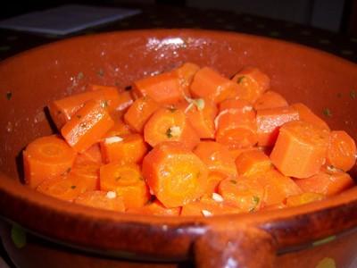 recette - carottes à la marocaine
