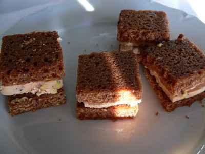 recette - club foie gras et pain d'épices