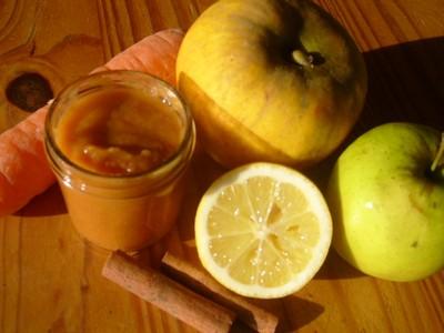 recette - compote pommes carotte