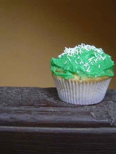 recette - cupcake martiens