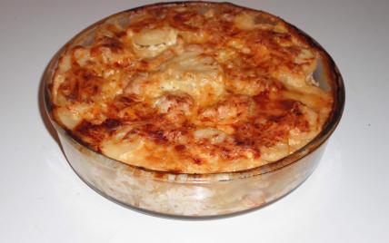 recette - gratin dauphinois au poulet et à l'estragon