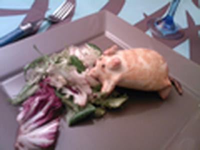 recette - petit rat spécial haloween
