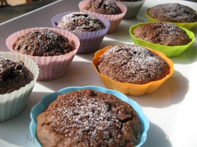 recette petits moelleux pomme chocolat pralin en grains facile et rapide. Black Bedroom Furniture Sets. Home Design Ideas