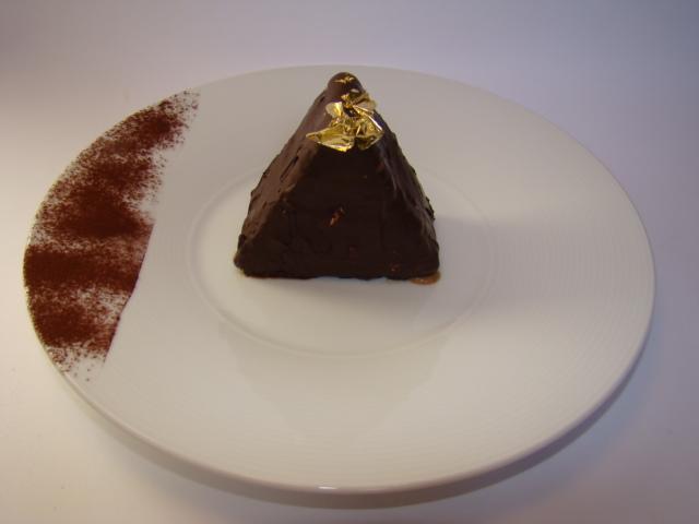 recette - sensation d'un triangle de toblerone ....