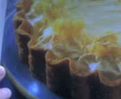 recette - tarte à la crème de noix de coco