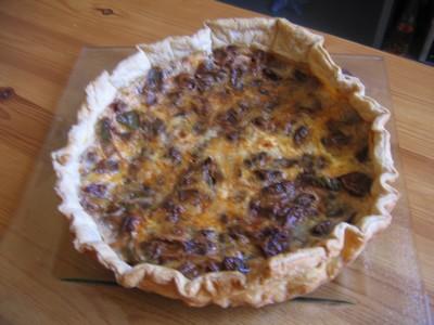Cake Figues Jambon Parme Croustillant