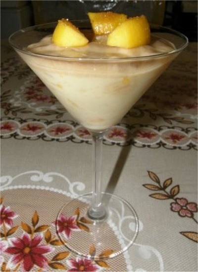 recette - tarte en verre aux abricots