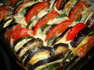 recette - tians aux légumes du soleil