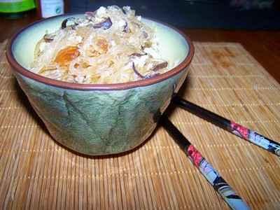 recette - a midi crabes vermicelle