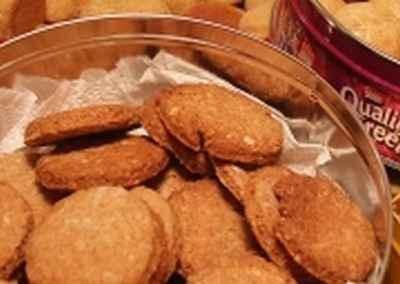 recette - biscuits aux flocons d'avoine