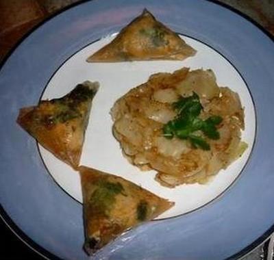 recette - briouate de poulet au citron confit