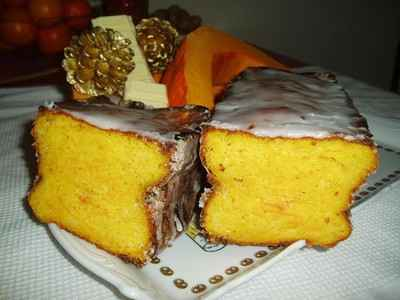 recette - cake potimarron et chocolat blanc