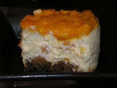 recette - cheescake à l'abricot