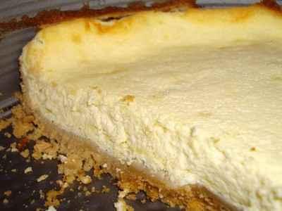 recette - cheesecake light au sésame et au citron