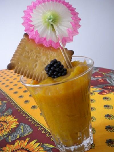 recette - compotée d'abricots à la cannelle
