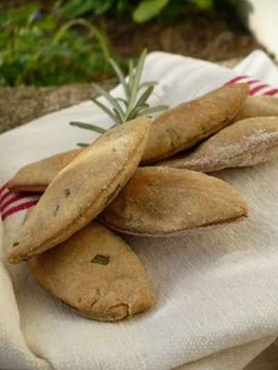 recette - crackers aux herbes