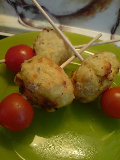 recette - croquette de pommes de terre à la fêta