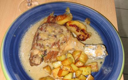 recette - cuisses de canard au cidre
