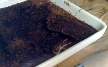 recette - fondant au chocolat et à la noix de coco