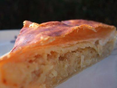 recette - galette des rois frangipane aux fruits secs parfum d'orange