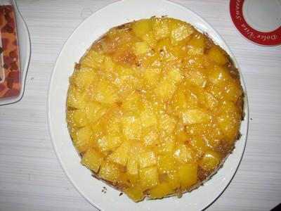 recette - gâteau ananas