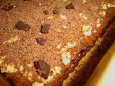 recette - gâteau au café