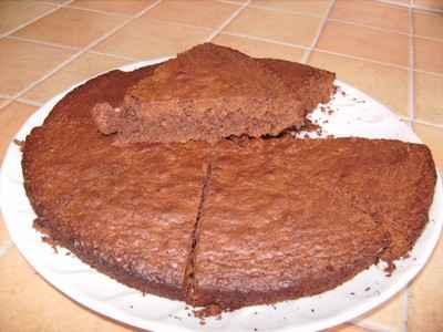 recette - gâteau chocolat à la noix de coco