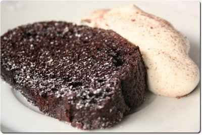 recette - gâteau plume