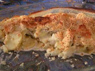 recette - gratin de panais et de pommes de terre