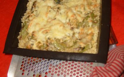 recette - gratin de quinoa aux blettes