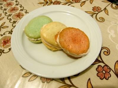 recette - macarons d'italie