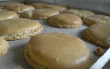 recette - macarons doubles à la vanille