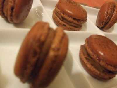 recette - macarons lisses chocolat