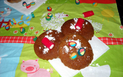 recette - mini muffins express à la crème de marron