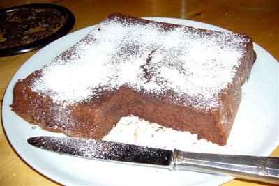 recette - moelleux au chocolat et ricotta