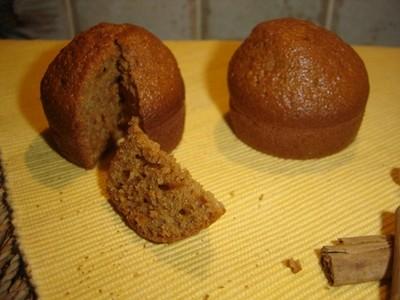 recette - muffins façon pain d'épices