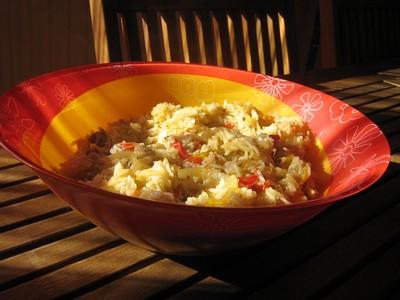 recette - riz piquanté