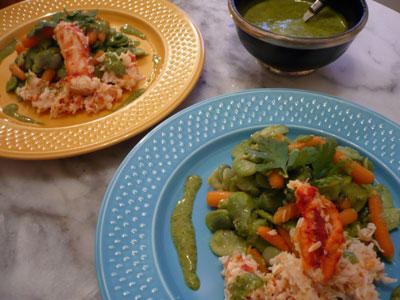 recette - salade royal maroc
