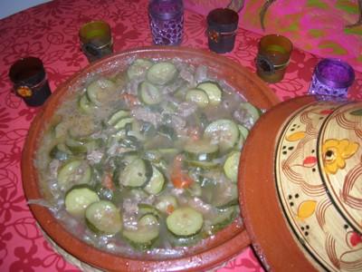 recette - tajine de boeuf aux courgettes