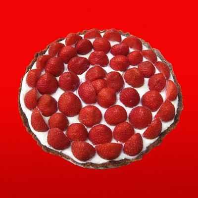 recette - tarte aux fraises chococo