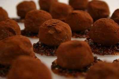 recette - truffes aux parfums de cigares