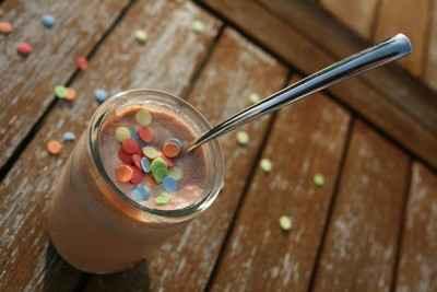 recette - yaourts crémeux au pralin