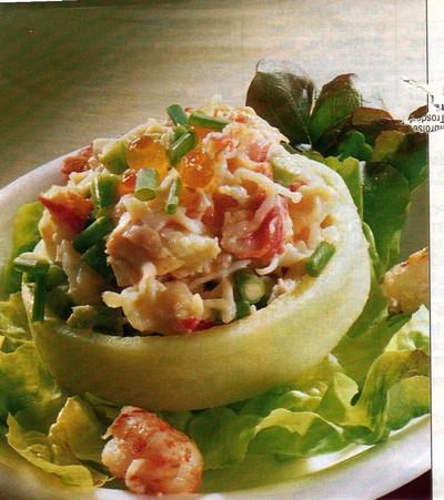 recette - artichauts farcis au crabe