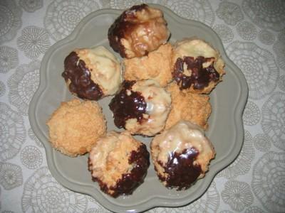 recette - biscuits aux amandes et à la noix de coco