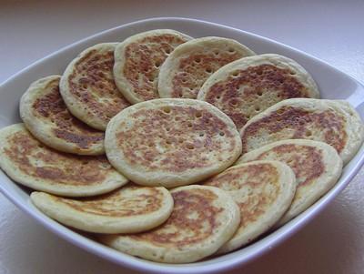 recette - blinis aux pommes de terre
