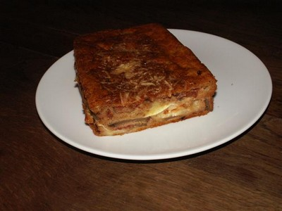 recette - cake à la courgette et au chèvre