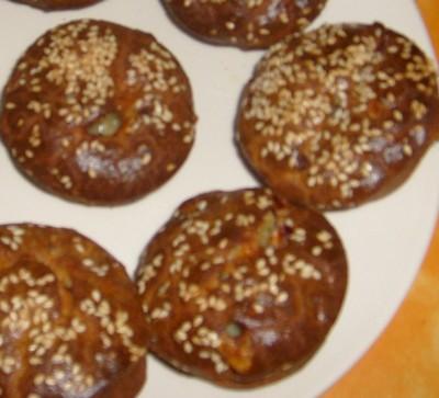 recette - cakes soufflés noix gorgonzola